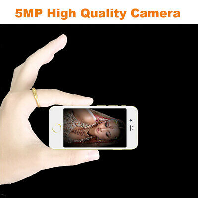 Dual SIM Unlocked Smell Mini Mobile Cell Smart Phone 3G Android 6.0 Camera Music