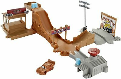 Disney cars pista sfida di thunder hollow multicolore dyb00