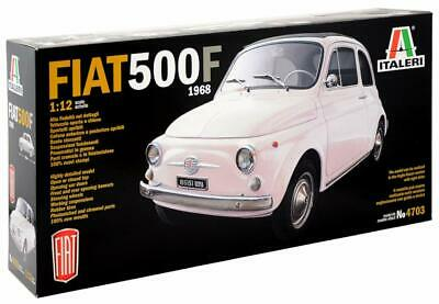 Italeri 4703 fiat 500f 1968 modellismo auto model kit scala 1:12