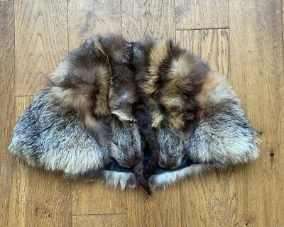Vintage Real Fur- Sable? Short Cape Small
