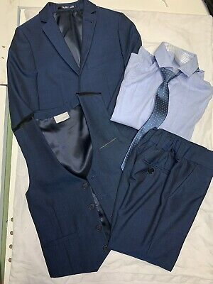 Next Signiture Navy 5 Piece Suit (5 Years) Worn Once Excellent Condition