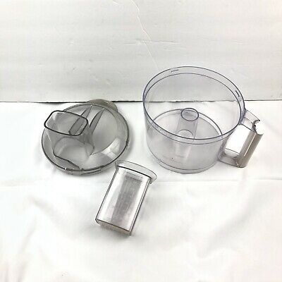 Hamilton Beach Food Processor 70610 PARTS Bowl, Lid, And Pusher