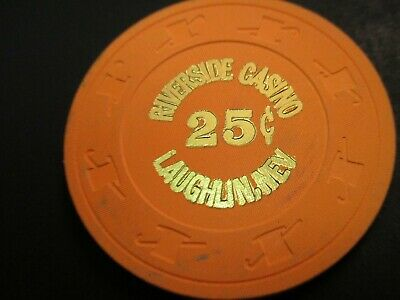 25 cent Riverside Casino Laughlin Nevada House Chip