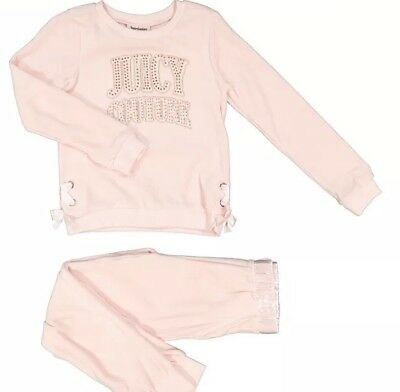 JUICY COUTURE Pink & Gold Velour Tracksuit BNWT