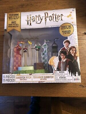 Harry Potter Quidditch Pitch Arena Mini Playset Chase The Snitch Brand New Bnib