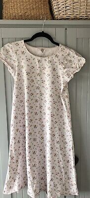 Girls Mini Boden Nightdress Pale Pink Floral - 9-10 Years