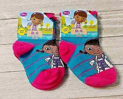 Ruffle Socks Handmade Personalized MTM Doc McStuffins Girls Toddlers Boutique