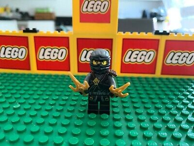 LEGO COLE - HONOR ROBES + weapons minifigure NINJAGO set 70595 day of departed
