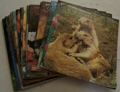 Lot Of 20 National Geographic World Magazines For Kids - 1979-1981