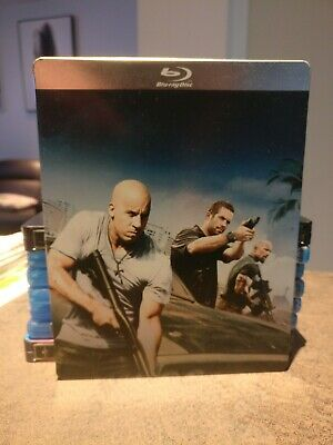 Blu-ray + DVD Steelbook Fast and furious 5