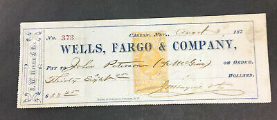 Wells Fargo Money Orders Bank High Quality Metal Magnet 3 x 4 inches 9396