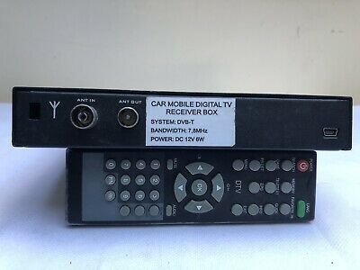 Super Car Mobile Dvb -T Digital Tv Receiver Box With Remote Control