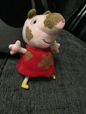 Fantastic Talking  Plush Peppa Pig Muddy Puddles Fully Working Official