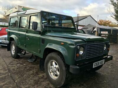 2000 Land Rover Defender 110 County Station Wagon Td5 5 door Four Wheel Drive