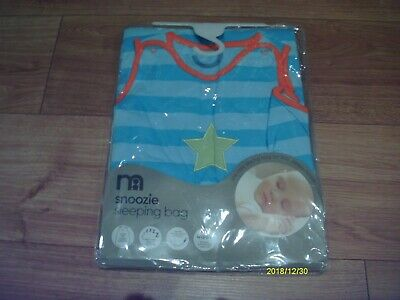 mothercare snoozie baby sleeping bag 1 tog (18 to 36 mths )