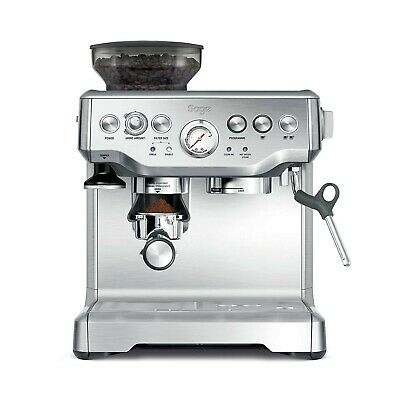 Sage Barista Express Bean to Cup Espresso Coffee Machine, Stainless Steel NEW