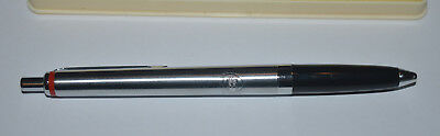 British Petroleum BP oil vintage Rotring pen with engraved logo in box rare