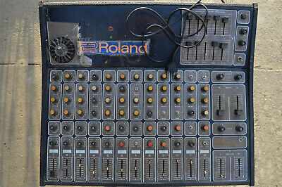 ROLAND Professional 12 SR Vtg Classic Analogue 12 Channel Summing Mixer Portable