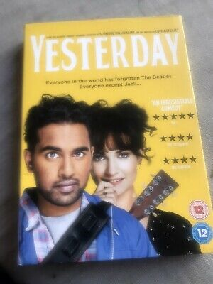 Yesterday dvd, With Slipcase , Viewed Once From New