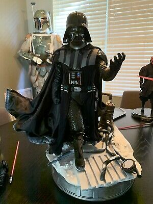 Iron Studios Darth Vader Star Wars 1/4 Scale Legacy Replica Sideshow Hot Toys