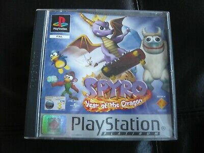 Spyro: Year of the Dragon (Sony PlayStation 1, 2000)