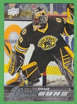 2015-16 Upper Deck #211 Malcolm Subban Young Guns RC Rookie