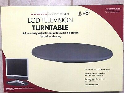 NEW Old Stock Sanus LCD television TURNTABLE Model TVLCDb