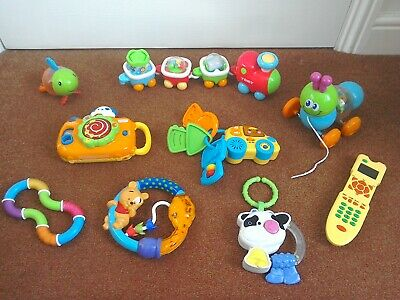 Large Babies Toy Bundle inc Tomy, Vtech, Munchkin & More Excellent condition