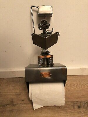 MEGA RARE Hinz And Kunst Hine Toilet Roll Tissue Paper Holder