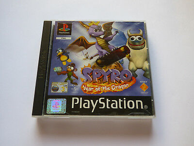 Spyro Year Of The Dragon Sony Playstation 1 PS1 Tested Working Manual Included