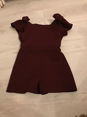 girls river island playsuit age 5-6 christmas outfit