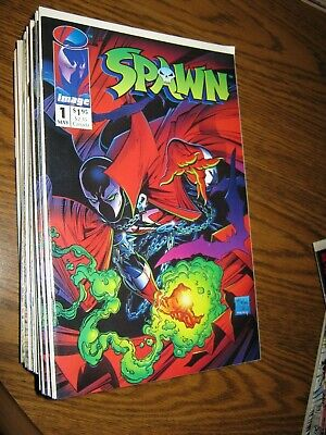 SPAWN #1 1992 IMAGE COMIC BOOK KEY ISSUE 1st SPAWN ~ NM/MT 9.6+ McFarlane