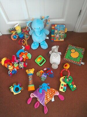 Large Baby Toy Bundle inc Lamaze, Vtech, Noby, Little Tikes, Mothercare & More