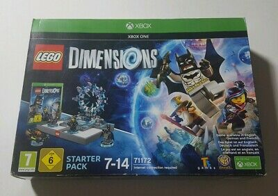 Lego Dimensions Starter Pack Microsoft Xbox One Game Portal Figures 71172 New