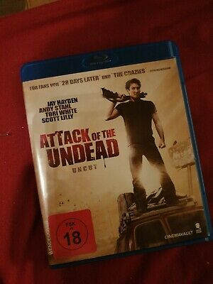 Attack Of The Undead - Uncut -  Blu Ray - NEU & OVP  FSK18