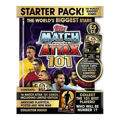 ClickDistribution UK MA101SP Match Attax 101 Trading Card Starter Pack