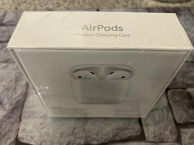 Apple AirPods 2 with Wireless Charging Case- 2nd Generation-Refurbished-Sealed