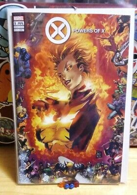POWERS OF X #1 PHILIP TAN A VARIANT MARVEL COMICS X-MEN Phoenix
