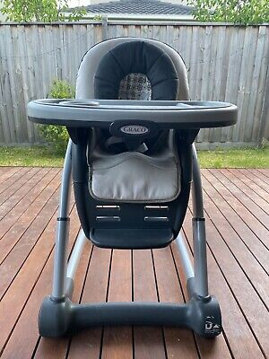 Infant to Toddler High Chair Graco Blossom  - PICK UP ONLY (3977)