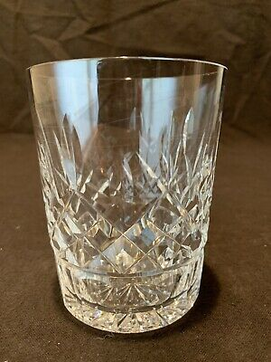 """Waterford Crystal Lismore Double Old Tumbler Fashioned Glass 4 3/8"""" H QUANTITY"""