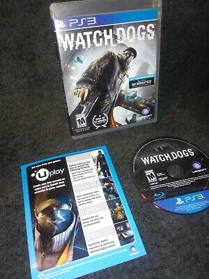 PS3 Watch Dogs Sony PlayStation 3 2014