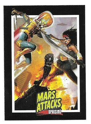 2019 Topps Mars Attacks: Uprising Promo Card - P