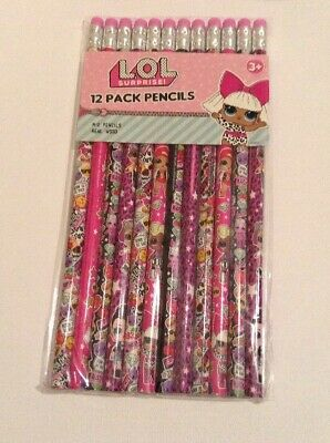 2 LOL Surprise Pencils 12 Pack # 2 Party Favors Games Prizes Birthday School