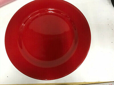 "Waechtersbach Germany Fun Factory RED 11"" Dinner Plate (S)"