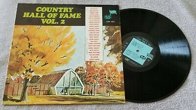 "Various Artists....""Country Hall of Fame Volume 2"" 12"" Vinyl Record LP"