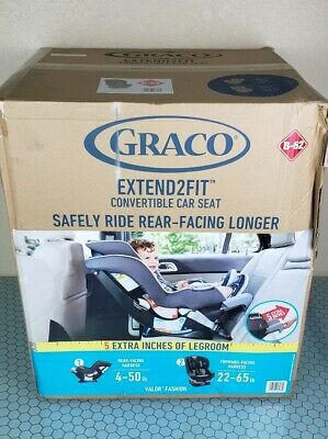 Graco Extend2Fit Convertible Car Seat - Valor (1957912)