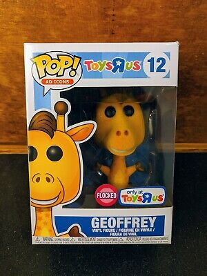 Funko Pop! Ad Icons Flocked Geoffrey #12 Toys R Us Exclusive