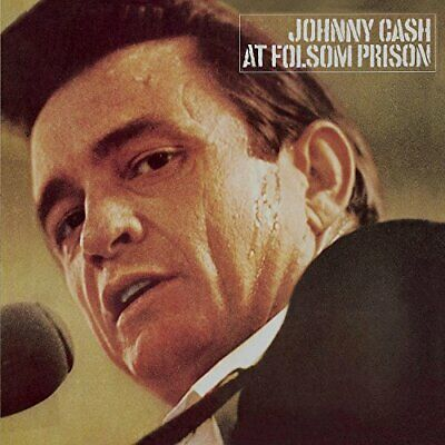 At Folsom Prison Live, Remastered Johnny Cash Outlaw Country Rockabilly Audio CD