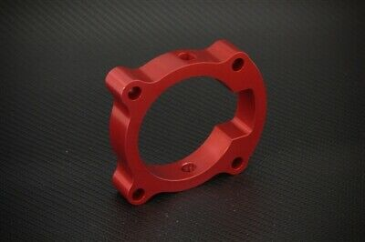 TORQUE SOLUTION TB THROTTLE BODY SPACER RED HONDA S2000 2000-2005 AP1