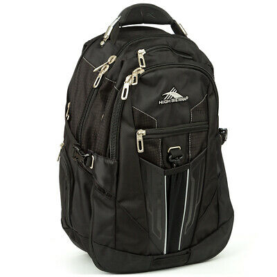 NEW High Sierra XBT Laptop Daypack Black